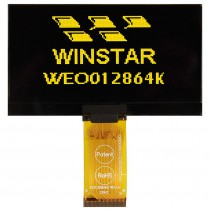 """OLED 128x64  Dual Color COG Graphic Display 0.96"""" with built in Controller SSD1306BZ"""