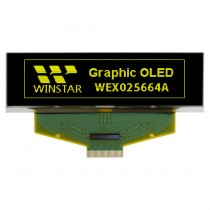 """OLED 256x64, Yellow, monochrome TAB Graphic Display 2.8"""", built in Controller SSD1322UR1"""