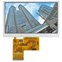 "TFT 4.3"" Panel only, 500 nits, Transmi, Resolution 480x272"