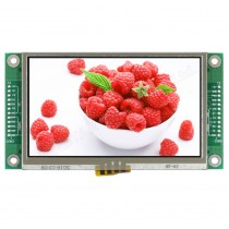 "TFT 4.3"" Panel + Control Board+RTS (RS232), 350 nits, Transmi, Resolution 480x272"