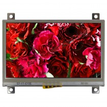"TFT 4.3"" Panel + Control Board (16Bit) + RTS, 350 nits, Transmi, Resolution 320x240"