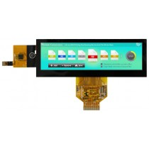 "TFT 5.2"" Panel 700cd/nits, High Brightness, Transmi, Weitwinkel, 480xRGBx128"
