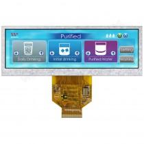 """TFT 5.2"""" Panel, O-Film, white LED, Transmi, Weitwinkel, 480xRGBx128"""