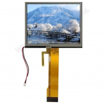 "TFT 5.7"" Panel only + RTS, 350 nits, Transmi, Resolution 320x240"