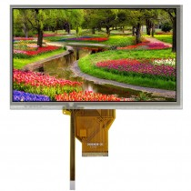 "TFT 7"" Panel only + RTS, 320 nits, Transmi, Resolution 800x480"