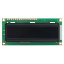 LCD, 16x2  white LED, FFSTN (Double Film) neg., transm., 6:00 EN/JP