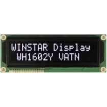 VATN LCD, 16x2  high light white LED, VA neg., Transmiss., W.T., 12:00 JP/EU