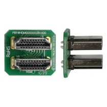 HDMI connector for TFT module and Raspberry Pi