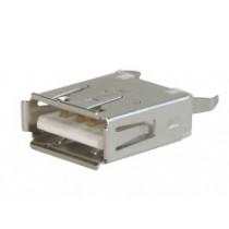 USB-Verbinder Serie A, 4-polig, stehend