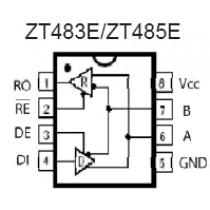 RS485E 5V 250kbps Transceivers