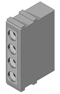 MAC Zwischenstück 4-pol