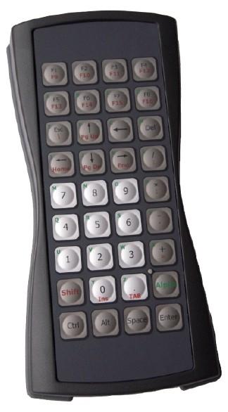 Keyboard 36 keys enclosed USB