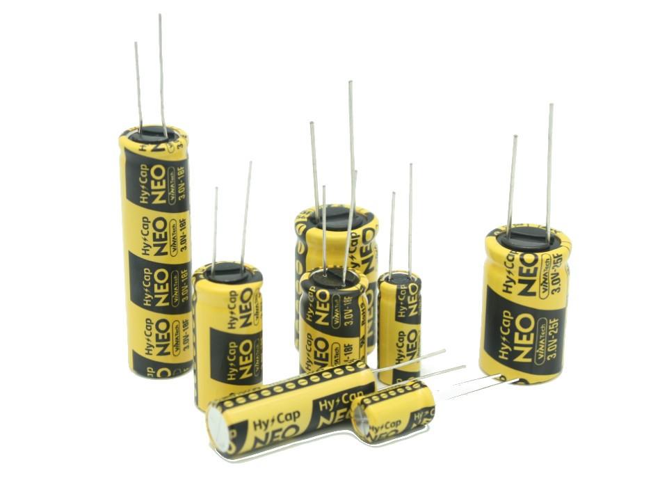 WEC3R0206QD EDLC VINATech 3.0V 25F 16x25 Radial P7.5