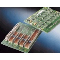 CPCI backplane with 4 slots, system slot right