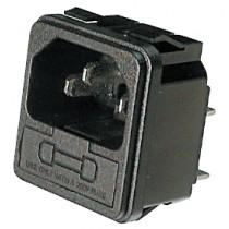 Einb.St.Löt 4.8 x 0.8t mm Snap-In, mit Sicherung
