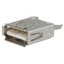 USB, Typ A, Löt, Top Entry,