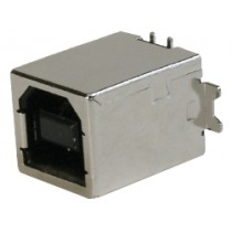 USB, Typ B 4-polig, SMD, Top Entry