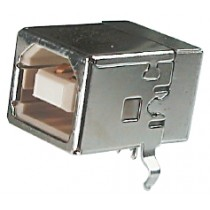 USB, Typ B, Löt, 4-pol. Leiterplattenmontage
