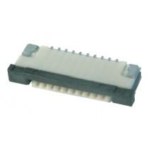 FFC Connector, ZIF, 1.00 mm, 10-polig