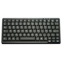 Industry 4.0 Mini Notebook Style Keyboard PS2 Black, German layout