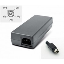 Tischnetzteil 12VDC/7A,90W,IN 90-264VAC, 4-Pin Snap and Lock Power Connector Kycon (aka Power DIN)
