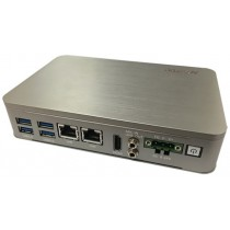 Compact Embedded Controller Fanless N3350 2C.1HDMI.2LAN.3COM.4USB.DC9-24V