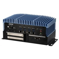 Fanless Embedded Box PC, EC.C246.2HDMI.4LAN.8USB3.2 Gen1.6COM.DIO 8 Bit.10-35V.PCIE[x4] + PCIE[x1]