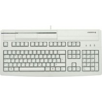 CHERRY Keyboard MULTIBOARD V2 USB Magnetkartenleser grau CH Layout