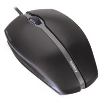 CHERRY Mouse GENTIX USB corded optical schwarz illuminated 3 buttons