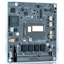 COM Express© compact type 6 Intel© Atom™E3845 4x1.91GHz, 2xDDR3L-SODIMM, mSD, industrialgrade