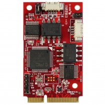 USB to dual isolated CANbus 2.0B mPCIe Module -40..+85C