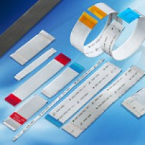 Flachleiter, Raster 1.00 mm, 20-polig, isolierte Länge 300mm