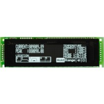 VFD Graphic Module 256x64 Dots 1.5x2.2mm Dot Pitch, 5V 430mA, parallel, serial