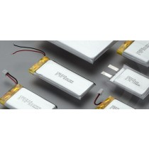 Lithium Ion Polymer 3,7V/ 340 mAh; mit Stecker