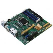 Micro-ATX Q170,6th gen.,2xGbE,COM,14xUSB,6xSATA3