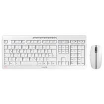 CHERRY Keyboard+Mouse JD-8500DE STREAM wireless+Bluetooth hellgrau DE Layout