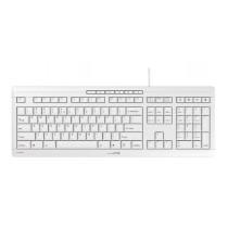 CHERRY Keyboard STREAM USB Ultra silent hellgrau US/€ Layout