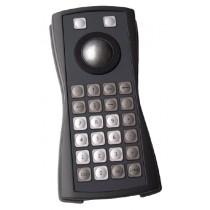 Keyboard 26 keys Trackball 38mm enclosed PS/2