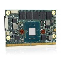 SMARC Intel Atom E3825, 2x1.33GHz, 2GB DDR3L, industrial temperature