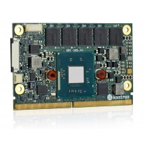 SMARC Intel Atom E3845, 4x1.91GHz, 4GB DDR3L ECC, 16GB MLC eMMC, industrial temper