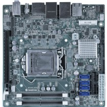 mITX ind. Motherboard 6th Gen. Intel CPU's, C236 Chipset, 2xDDR4 Sockets