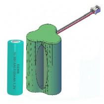 NiMH AkkuPack 3.6V 1800mAh 30mm cable