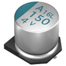 ELKO POLY SMD 100uF 6.3V 6.3x5.2 105°C T&R
