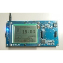 S1C17801 Evaluation Board,ICD included STN display