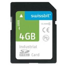 Industrial SDHC Memory Card S-450 1GB SLC, -40..+85°C