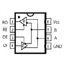 RS 485 Full Duplex 1D/1R 10Mbps, 5V, 8 nSOIC
