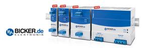 Bicker – smarte DIN-Rail Stromversorgungen