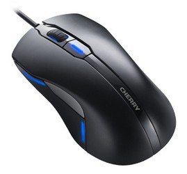 CHERRY Mouse MC 4000 USB corded optical schwarz 6 buttons LED