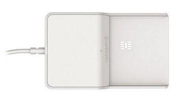 CHERRY SmartCard Terminal TC 1100 (ChipCard) USB hellgrau Retail Packaging