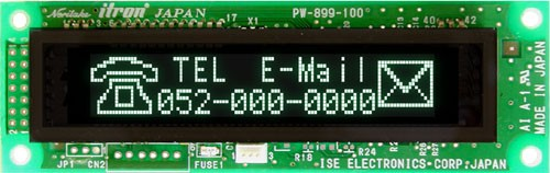 VFD Graphic Module 112 x 16 dot Par. & Ser.Interface